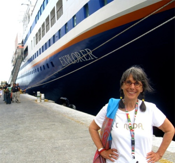The late Evelyn Hannon, founder of Journeywoman.com