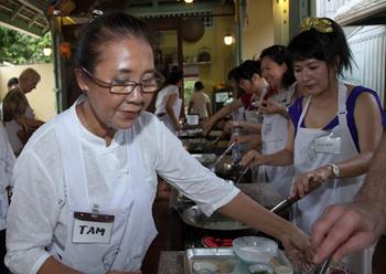 Amita Tam's cooking school.