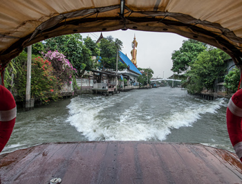 Bangkok's canals.