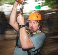 Gibbon rainforest zip line canopy tour.