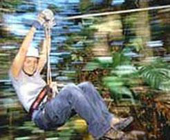 Ziplining in Costa Rica. Photo: SkyWalk.