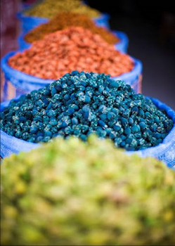 Moroccan spices. photo: Heritage Tours.