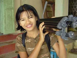 A 12-year-old Burmese powerhouse