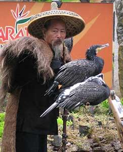 A poultry vendor