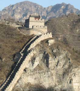 A guard tower on the Great Wall