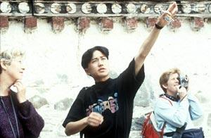 A Djoser group leader in Tibet