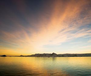 An arctic sunrise