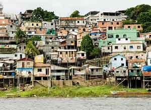 Palafitos - houses on stilts