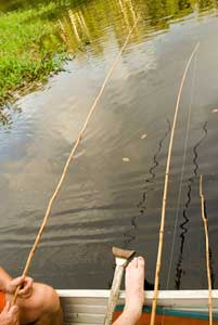 Piranha fishing - photos by Jason Gardner
