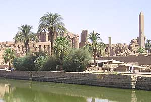 The majestic Temple of Karnak