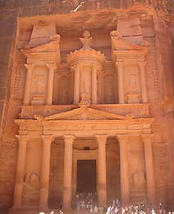 The Treasury: A Real Gem of Petra.
