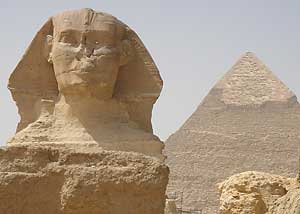 The Pyramid of Khafre & the Sphinx