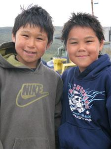 Children of Kangiqsujuaq