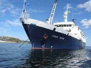The Cruise North Ship Lyubov Orlova