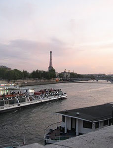 View of Paris sunset. Photos by Candice Walsh.