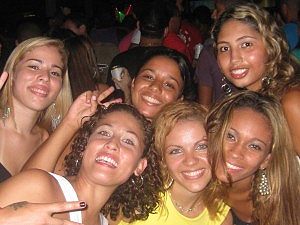 It may be a poor section of Rio, but the woman are just as beautiful here as anywhere else in Brazil!