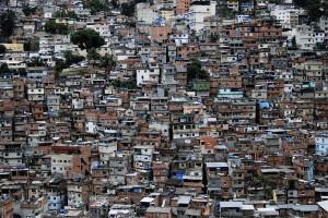 The closely packed shacks in Rocinha, a favela of Rio de Janiero. photos courtesy of Favela Adventures.