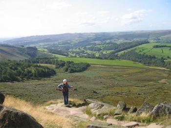 Baslow Edge, Derbyshire.
