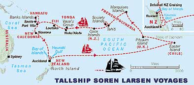 Tall Ships Adventures in the South Pacific