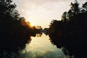 Suwanee River sunset. photos by Shady Hartshorne.