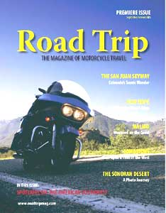 The first issue of Road Trip