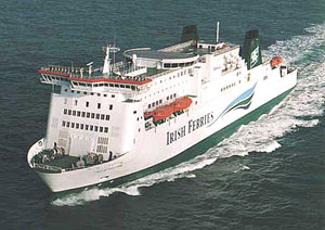 Irish Ferries is a Eurail member company.