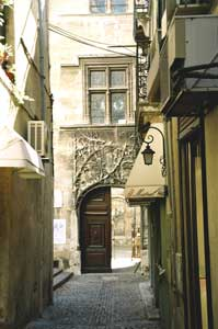 Avignon's streets wind through both modern and ancient influences, often steering visitors down the path less traveled. Photo by Jaclyn Stevenson