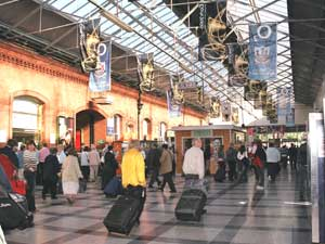 An extremely busy station in Ireland