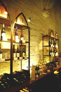 The Pope's Wine Cellar, nestled inside the Pope's Palace, allows visitors to sample some fine wines of the Cote du Rhone. Photo by Jaclyn Stevenson