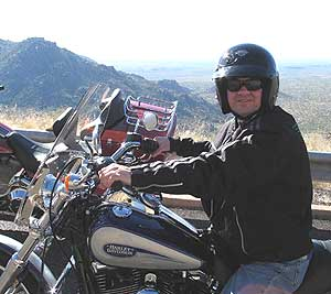The author is shown on his rented 2006 Harley Davidson Dyna Low Rider. Photo by Dan Lemelin. All other photos by Nick DeCondio.