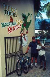 Rick and Emilio at Iguana Mama's