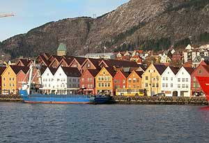 Bergen and the Historic Bryggen District