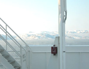 Passing the Artic Circle