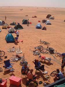 A cycling camp