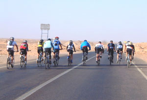 A stage of the Tour d'Africa
