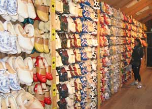 You can buy wooden shoes at Zaanse Schans