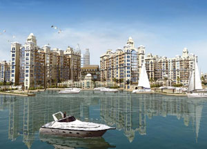 The marina on Dubai Creek