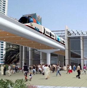 A high-speed train
