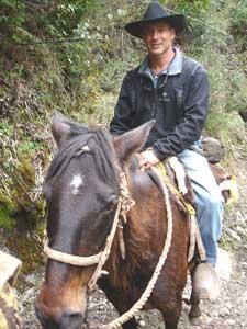 Men belong on horseback