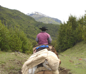 Horsepacking in the mountains of Patagonia - photos by Peter Heller
