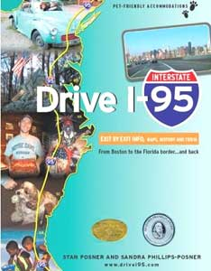 Drive 95 is a comprehensive guide to America's East Coast Highway