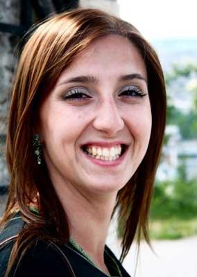 Amela Muhic-Vlajcic, a guide in Sarajevo