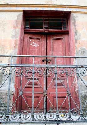 Door in Sarajevo