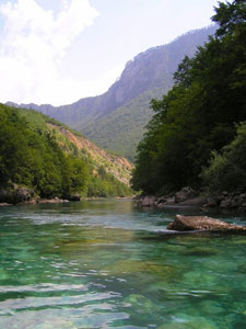 The Tara River in Bosnia - photos by Cindy-Lou Dale
