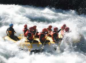 Rafting on the Tara