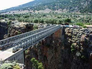 Bridge at Aradena Gorge