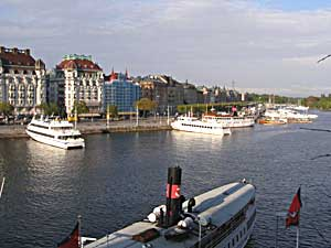 The waterfront in Stockholm