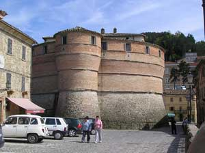The 15th century castle Sassocorvaro