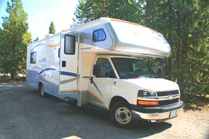 No need to worry about hotel bills when you have your own home on wheels.