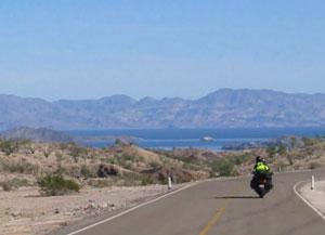 Motoring to the beautiful Bahía de Los Angeles